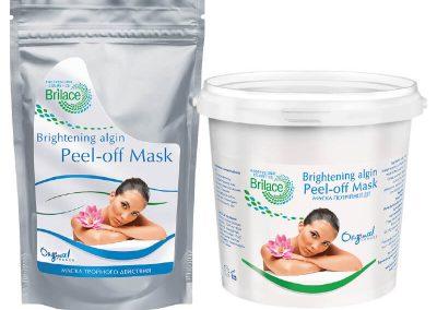 Brightening algin peel-off mask — тройного действия