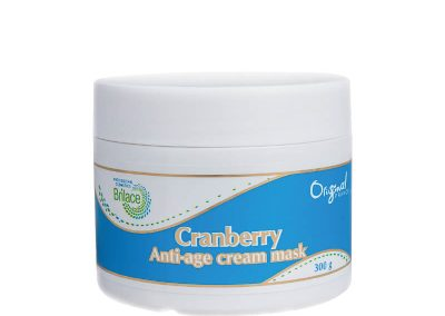 Cranberry anti-age  cream mask — биоактивная маска