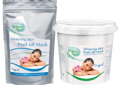 Whitening algin peel-off mask — отбеливающая