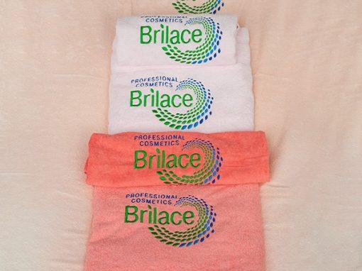 Полотенце брендированное «Brilace»